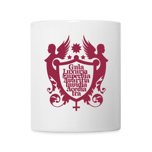 tasse pêchés - Mug blanc
