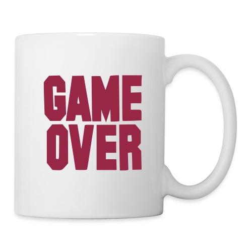 game over - Mug blanc