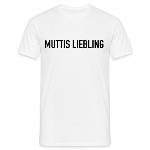 MUTTIS LIEBLING - Männer T-Shirt