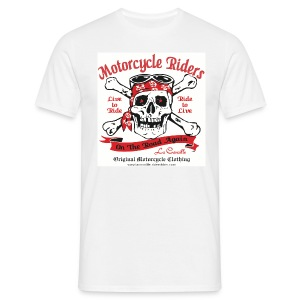 MOTORCYCLE RIDERS| tee-shirts homme - T-shirt Homme