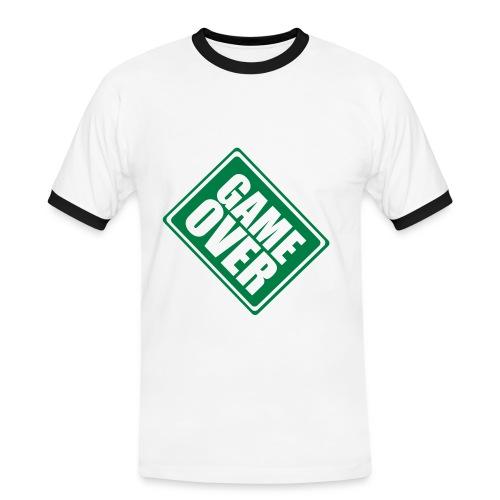 Game Over T Shirt - Men's Ringer Shirt