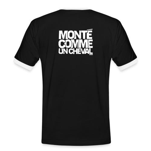 la collection tony - T-shirt contrasté Homme