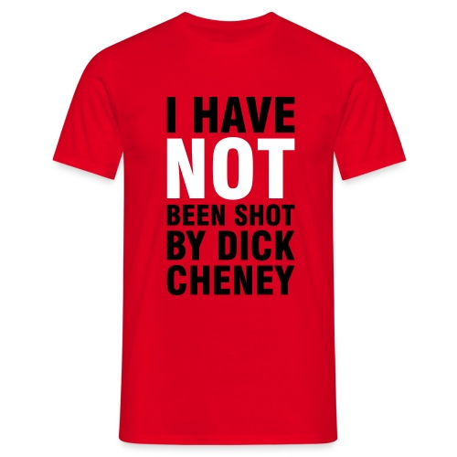 Dick Cheney - Comfort Mens T - Men's T-Shirt