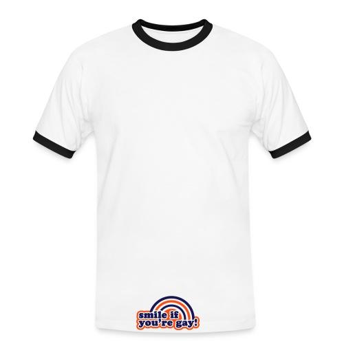 Gay attitude - T-shirt contrasté Homme