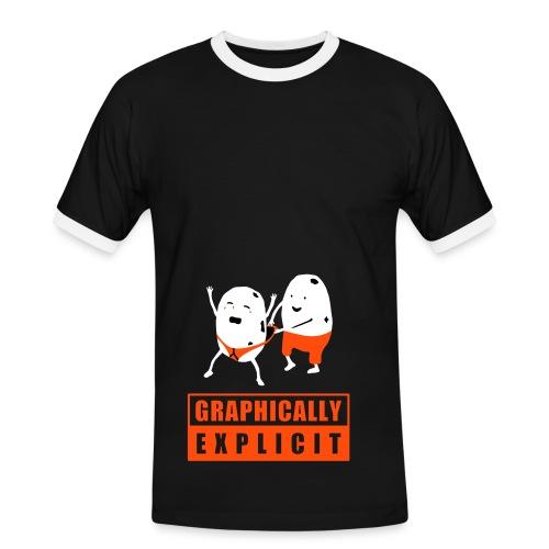Oops - T-shirt contrasté Homme