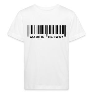 Made in Norway T-skjorte - Økologisk T-skjorte for barn