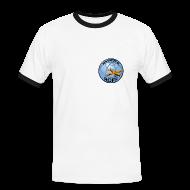 T-shirts ~ Kontrast-T-shirt herr ~ T-shirt
