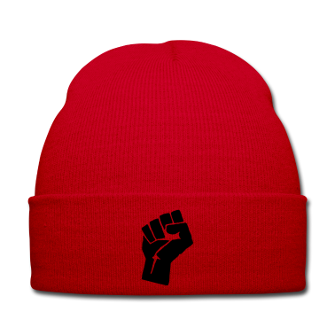 Red fist Caps & Hats