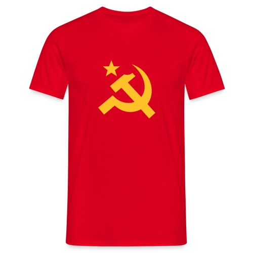 Bold Hammer Sickle T-Shirt - Men's T-Shirt