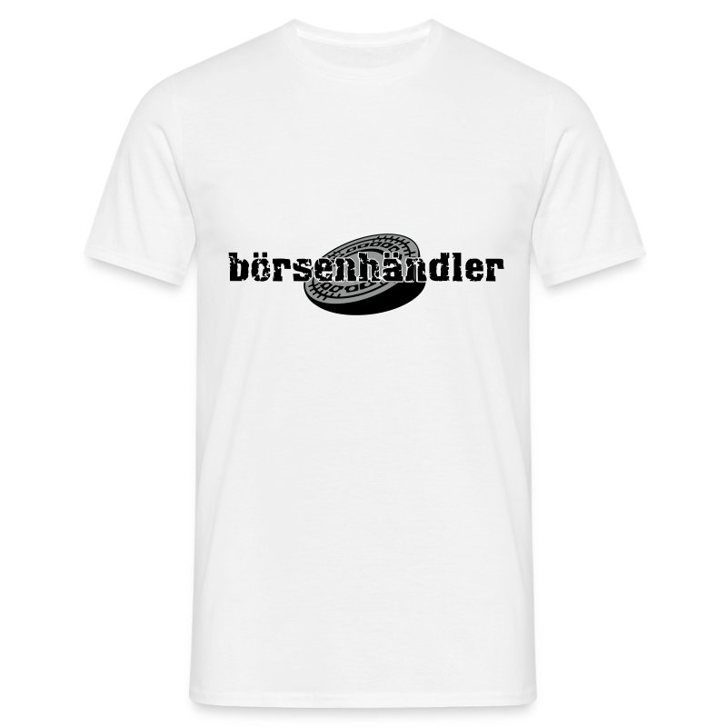 boersenhaendler_male_white - Männer T-Shirt