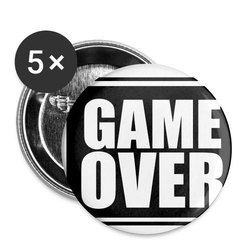 Game Over Button - Buttons klein 25 mm