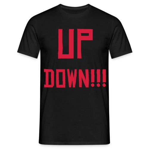 Down (Mens) - Men's T-Shirt