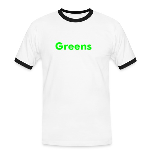 Greens - Men's Ringer Shirt