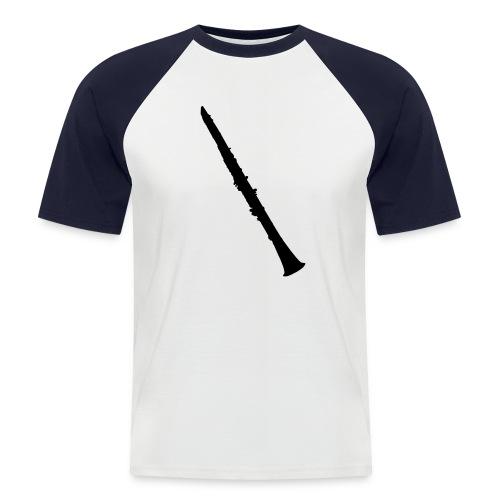 Clarinet - Mannen baseballshirt korte mouw