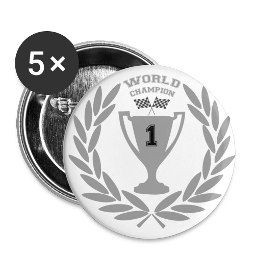 world champion - Buttons large 56 mm