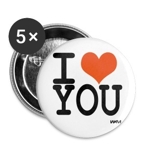 CHAPAS I LOVE - Chapa grande 56 mm