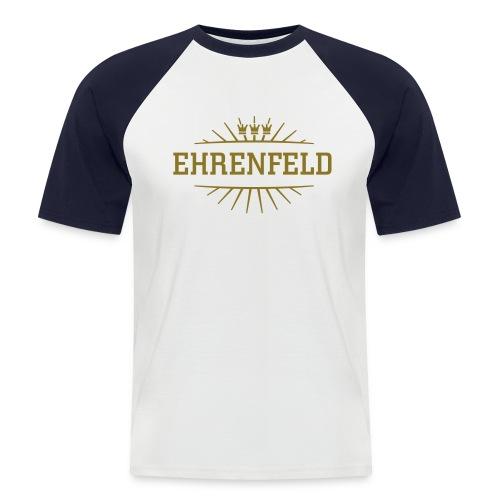 Ehrenfeld_(Gold matt & metallic) - Männer Baseball-T-Shirt