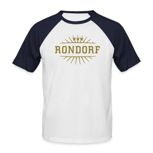 Rondorf_(Gold matt & metallic) - Männer Baseball-T-Shirt