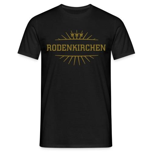 Rodenkirchen_(Gold matt & metallic) - Männer T-Shirt