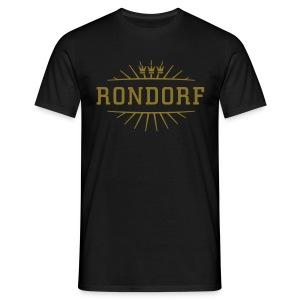 Rondorf_(Gold matt & metallic) - Männer T-Shirt