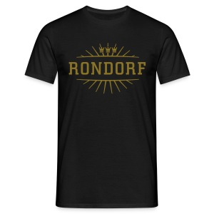 Rondorf_(Gold matt & metallic) - Männer T-Shirt