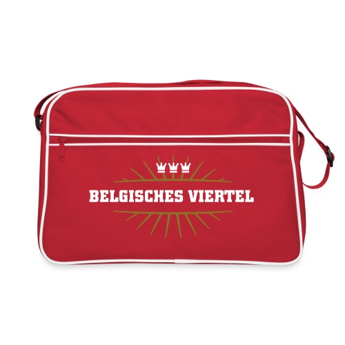 Belgisches Viertel_ - Retro Tasche