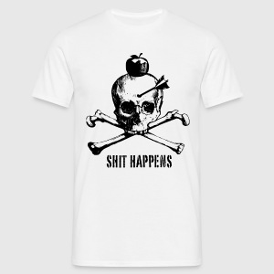 shit happens - Männer T-Shirt