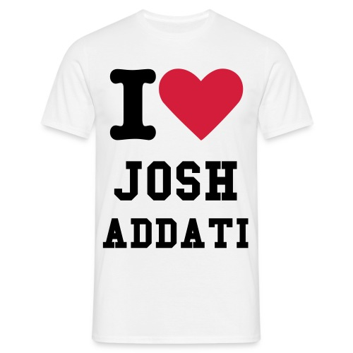 I Heart Josh Adatti - Men's T-Shirt