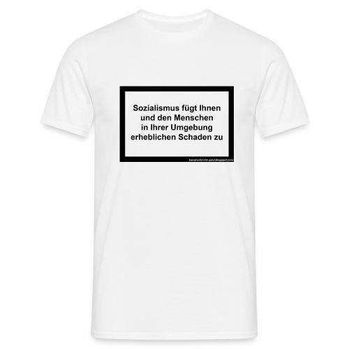 Sozialismus  - Männer T-Shirt