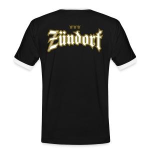 Zuendorf (Frakturschrift) - Männer Kontrast-T-Shirt