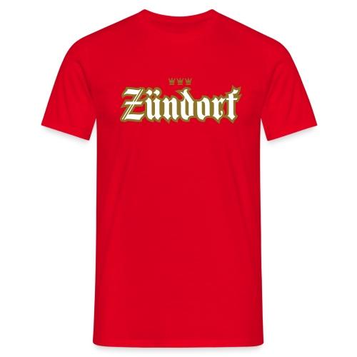Zuendorf (Frakturschrift) - Männer T-Shirt