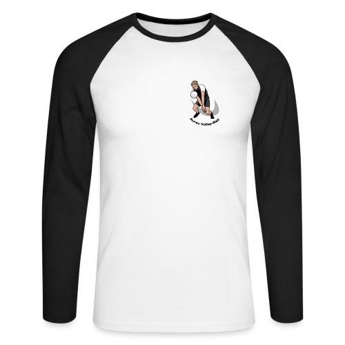 T-shirt homme manche longue - T-shirt baseball manches longues Homme