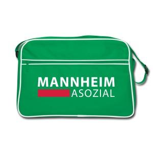 Mannheim  Asozial - Retro Tasche