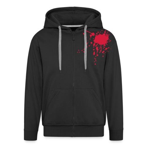 Dead Angel - Men's Premium Hooded Jacket