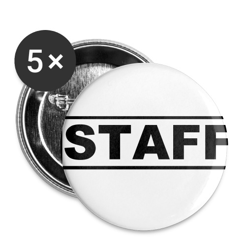 Buttons klein 25 mm (5-pack)