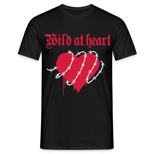 Wild at Heart - T-skjorte for menn