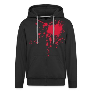 blooded up - Men's Premium Hooded Jacket