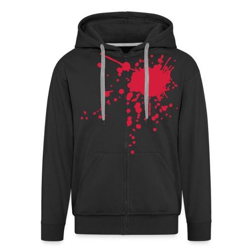 blooded up - Men's Premium Hooded Jacket