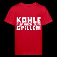 T-Shirts ~ Kinder Bio-T-Shirt ~ Öko-Grilllehrling Feuer