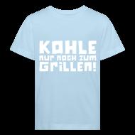 T-Shirts ~ Kinder Bio-T-Shirt ~ Öko-Grilllehrling Schäfchenwölkchen