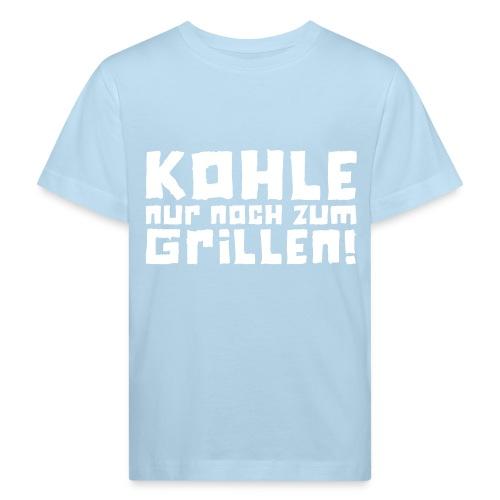 Öko-Grilllehrling Schäfchenwölkchen - Kinder Bio-T-Shirt
