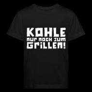 T-Shirts ~ Kinder Bio-T-Shirt ~ Öko-Grilllehrling Kohle