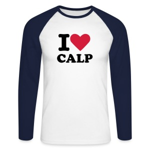 I LOVE CALP MEN LONG - Raglán manga larga hombre