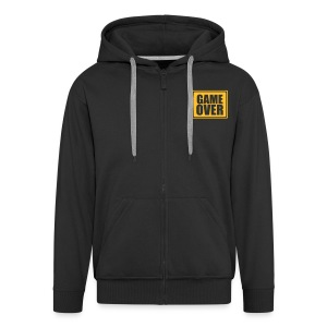 GAME OVER - Men's Premium Hooded Jacket