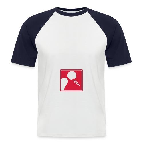 Maglia da baseball a manica corta da uomo