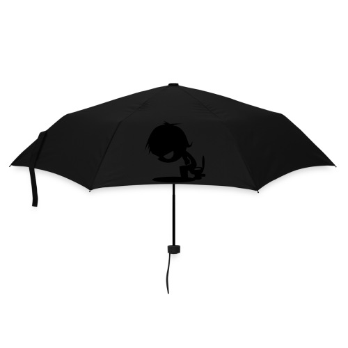 white tee - Umbrella (small)