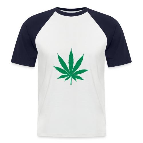 stylisches Cannabis T-Shirt - Männer Baseball-T-Shirt