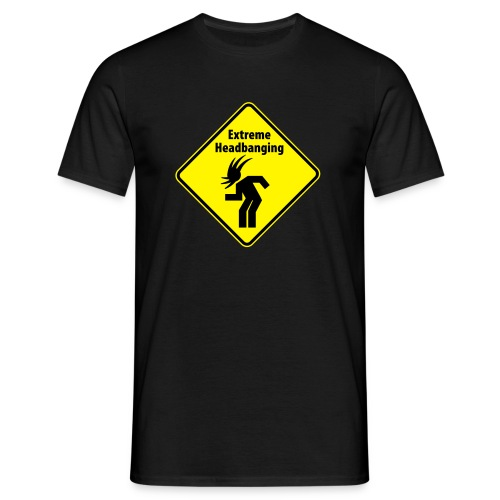 Extreme Headbanging - Männer T-Shirt