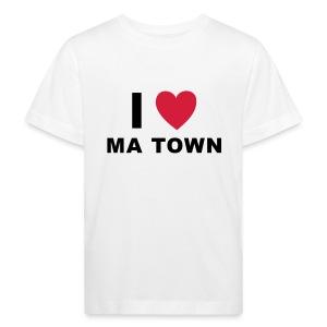 I LOVE MA TOWN - Kinder Bio-T-Shirt