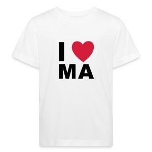 I LOVE MA  - Kinder Bio-T-Shirt